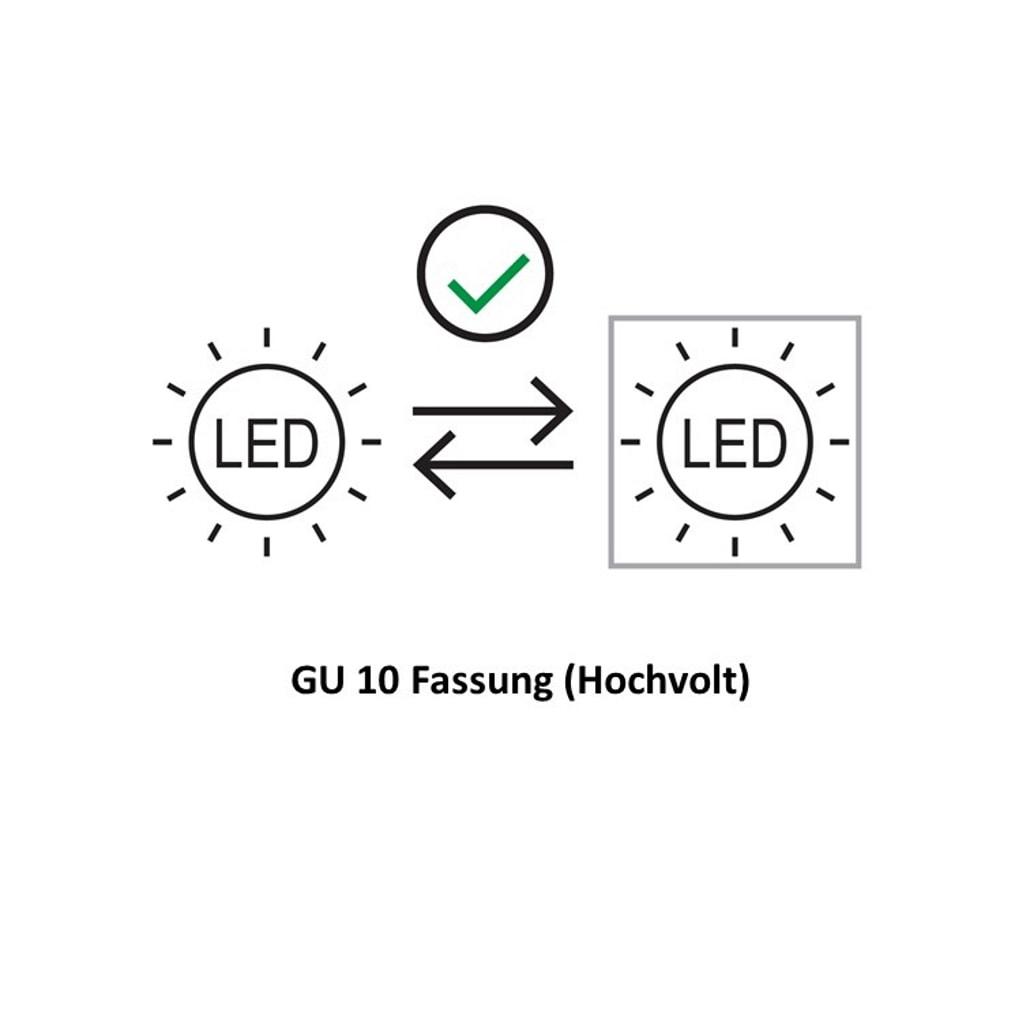 GU10 austauschbar